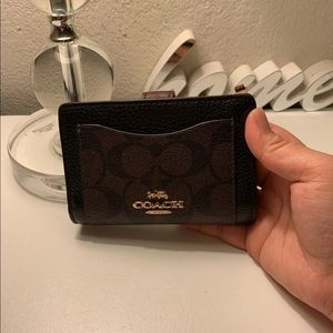 Coach Signature Leather Wallet